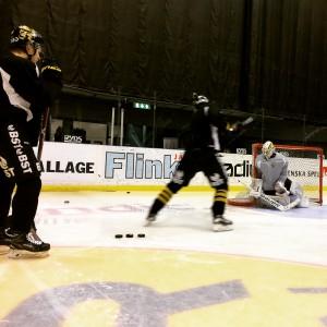Besök AIK målvaktsträning.